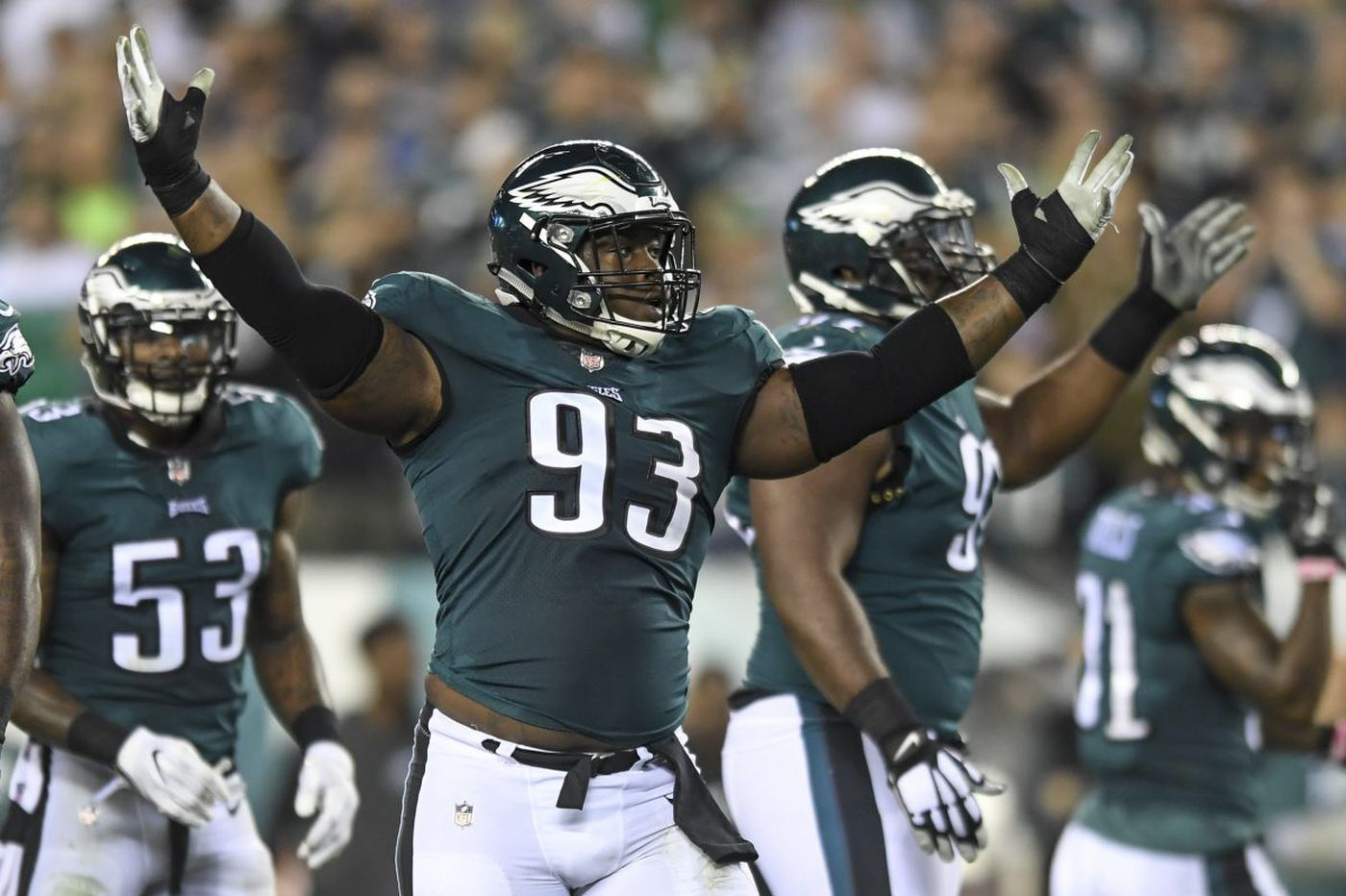 Why is Tim Jernigan so valuable to the Eagles?