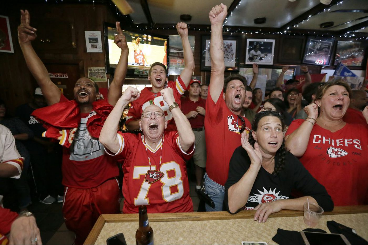 Big Charlie's Saloon: the one place celebrating the Kansas City Chiefs victory