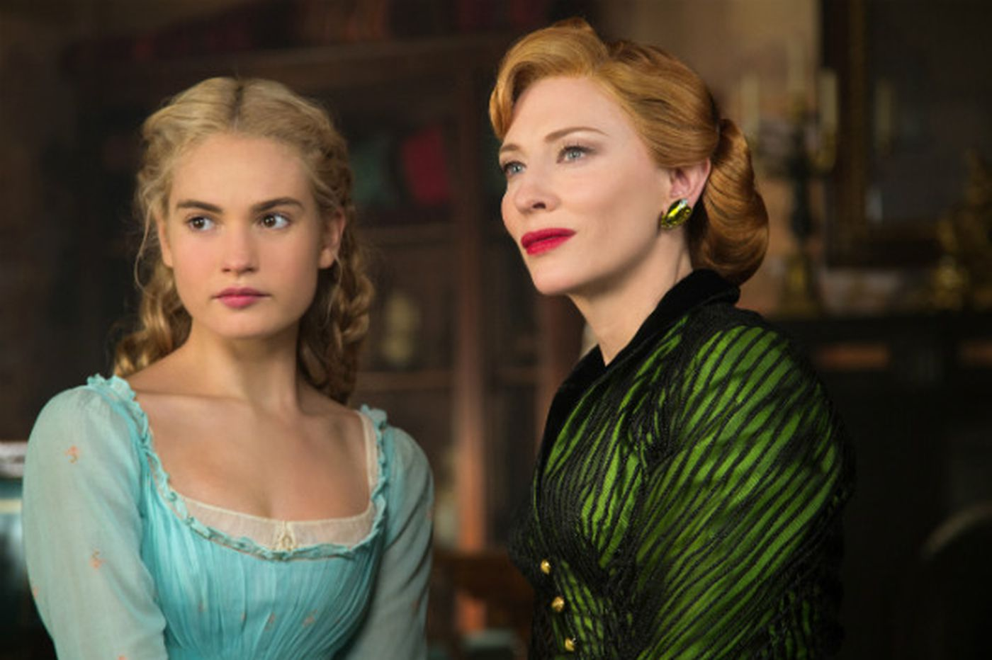 Downton Abbey's Lady Rose is magical as she slips into 'Cinderella' slippers