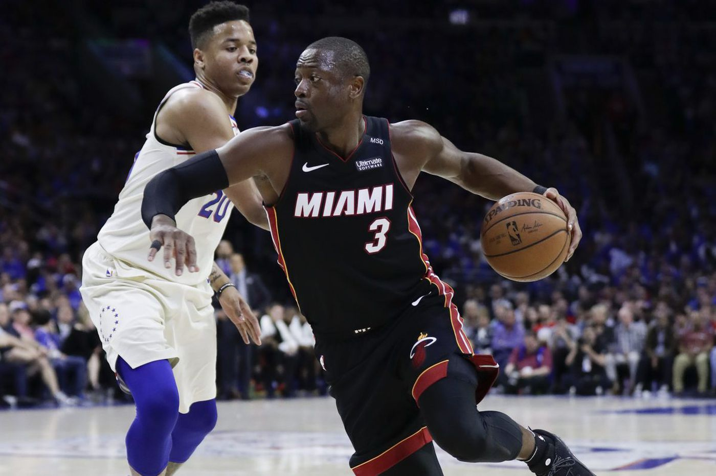 Dwyane Wade weighs in on matchups in Sixers-Heat NBA playoff series, has high praise for Ben Simmons