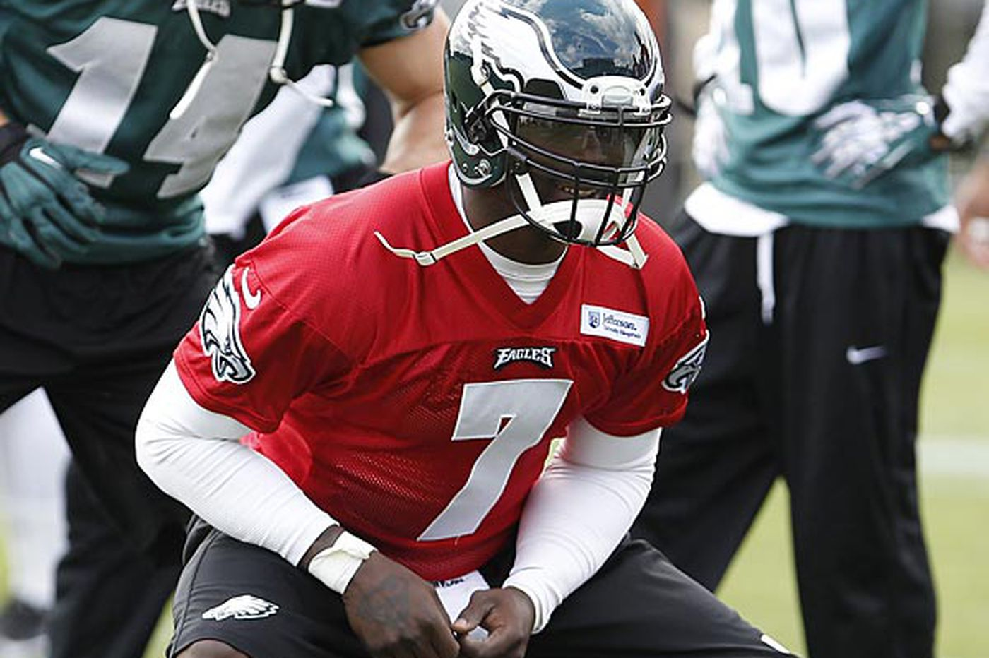 Jaworski optimistic about Vick
