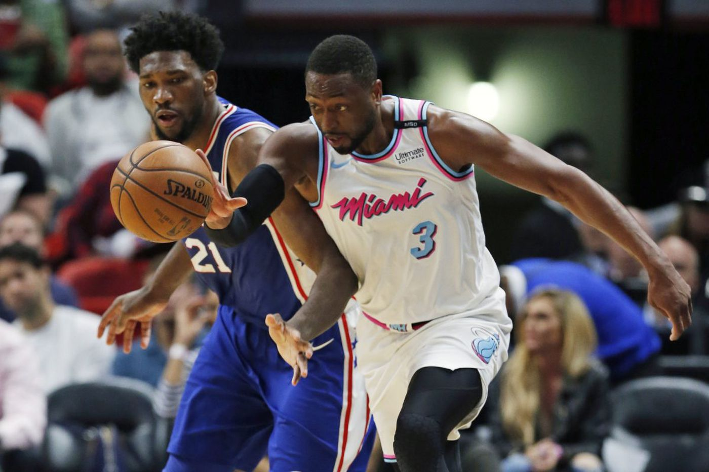 Sixers-Heat observations, 'best' and 'worst' awards: No answer for Dwyane Wade, struggling wing players