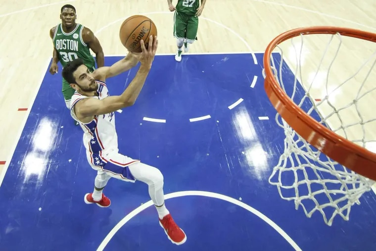 Furkan Korkmaz will be called up following the Delaware 87ers' game against the Westchester Knicks Tuesday night.
