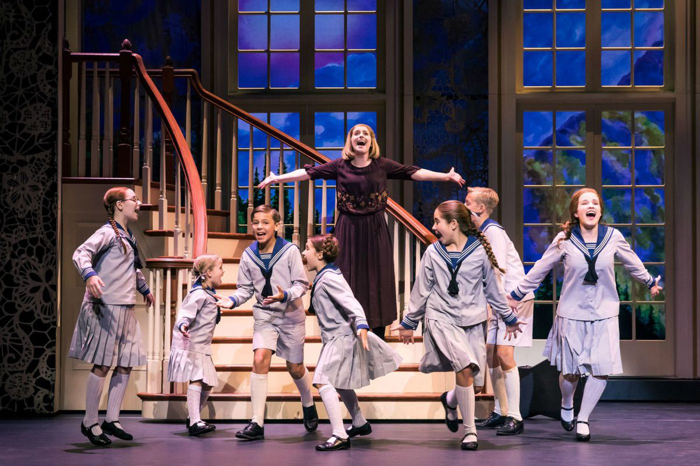 'Sound of Music' at the Merriam Theater: Tight, kinetic, great tunes, and Gretl and Brigitta