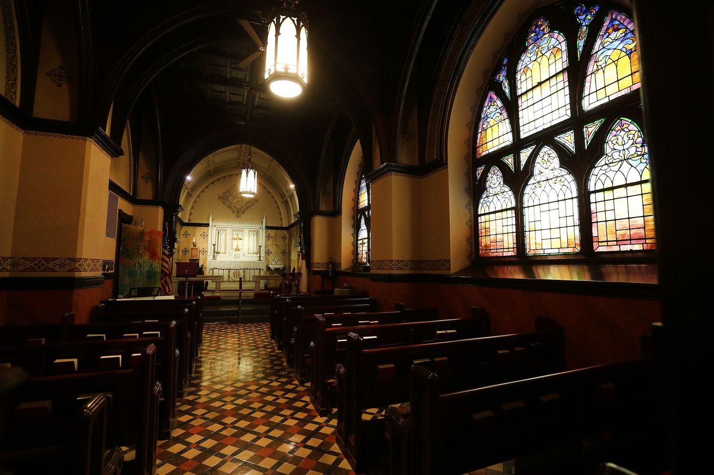 Could a parking garage ruin an iconic church on a Pennsylvania mountain?