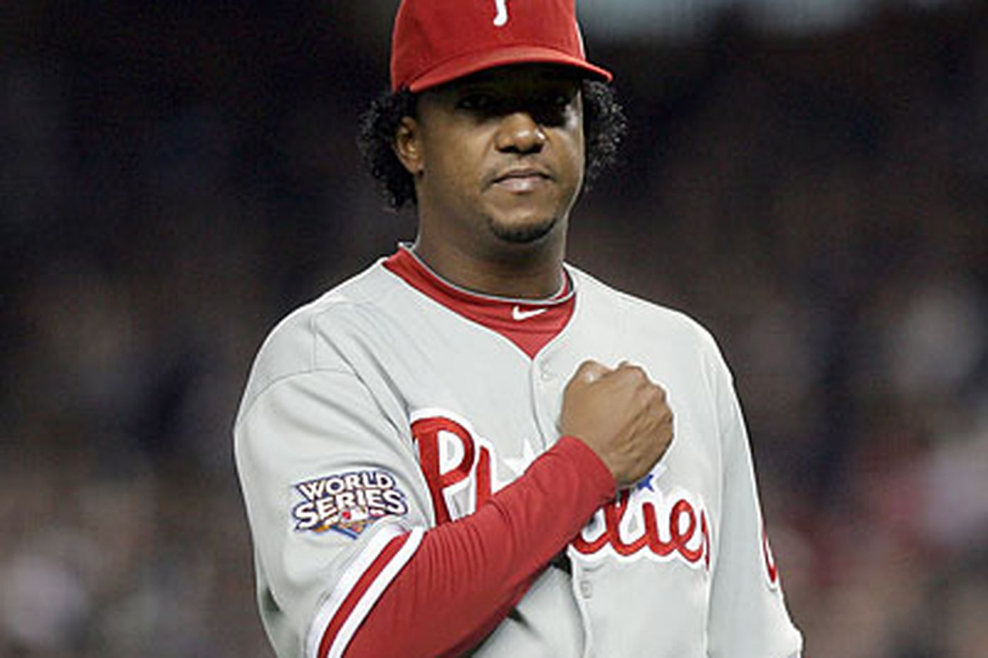 best service c674a 15332 Pedro Martinez to carry Phillies' hopes in Game 6