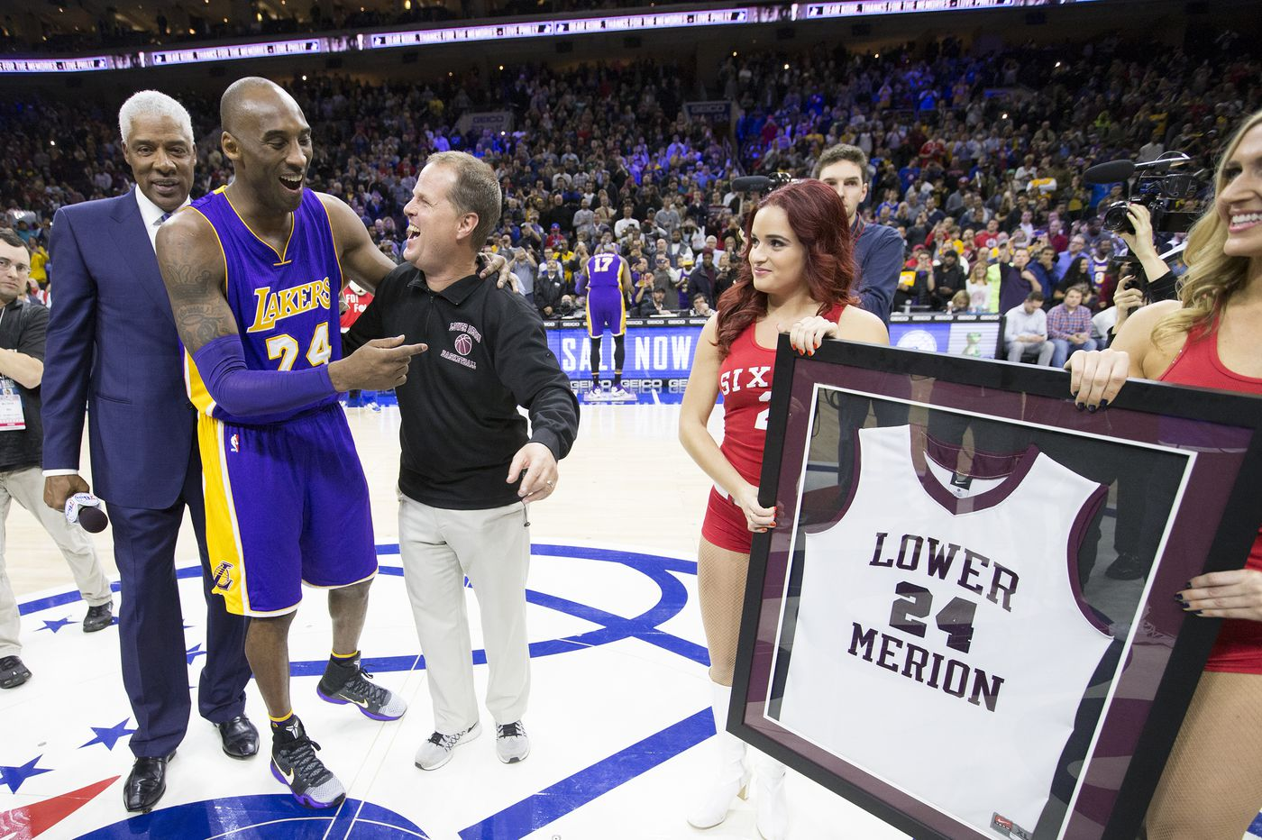 Kobe Bryant's life by the numbers, from Lower Merion to the Lakers to the Oscars