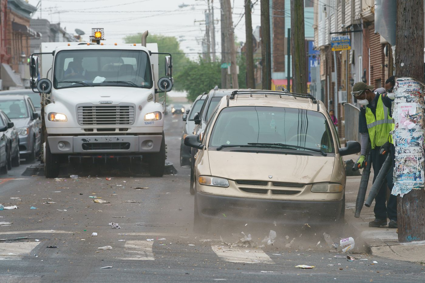 Of course Philly's street-sweeping trucks don't fit down our streets. The city must show they can fix it. | Mike Newall