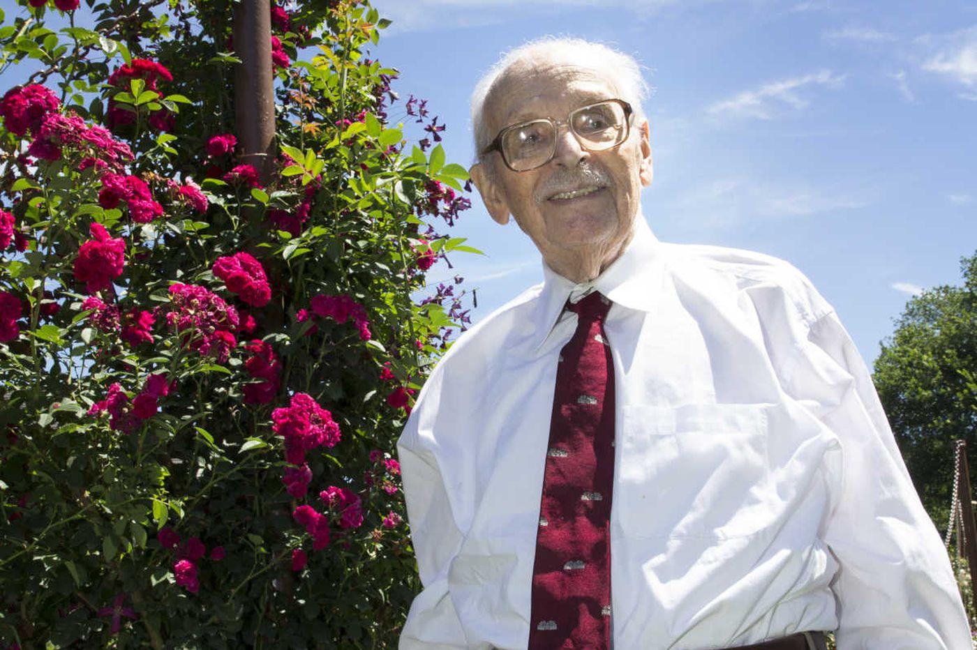 Swarthmore benefactor Eugene M. Lang, 98, of New York City