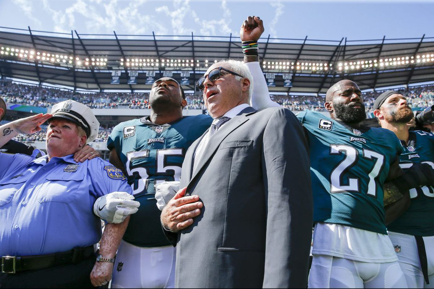 Eagles', NFL protests are the most American anthem of all | David Murphy