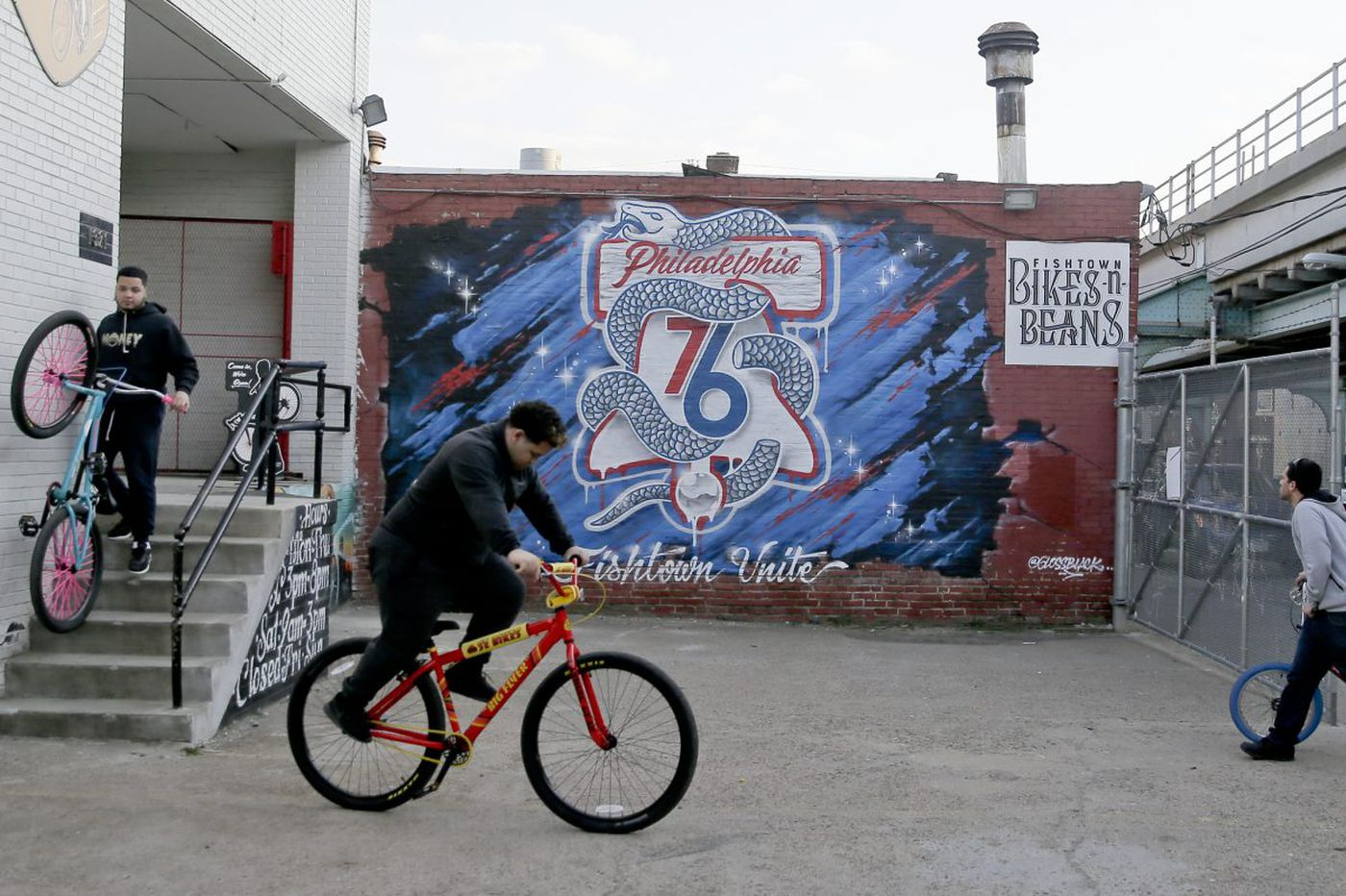 A Liberty Bell and a severed snake: 76ers marketing looks to score a big win