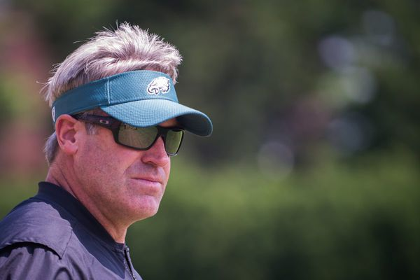 Doug Pederson's second training camp with Eagles to include live tackling, morning sessions, split-squad practices