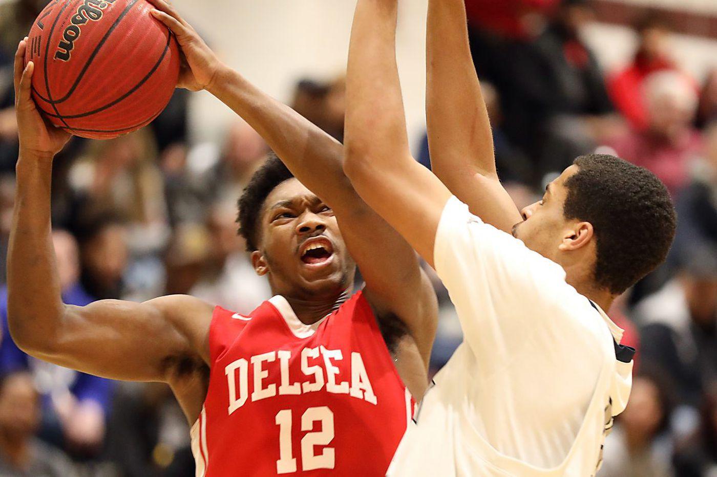 Javon Gordon powers Delsea boys' basketball team