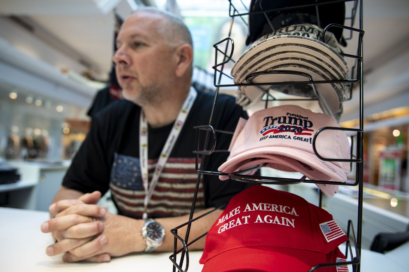 Want to sell Trump merchandise at the mall? Better get some Bernie Sanders shirts, too. | Clout
