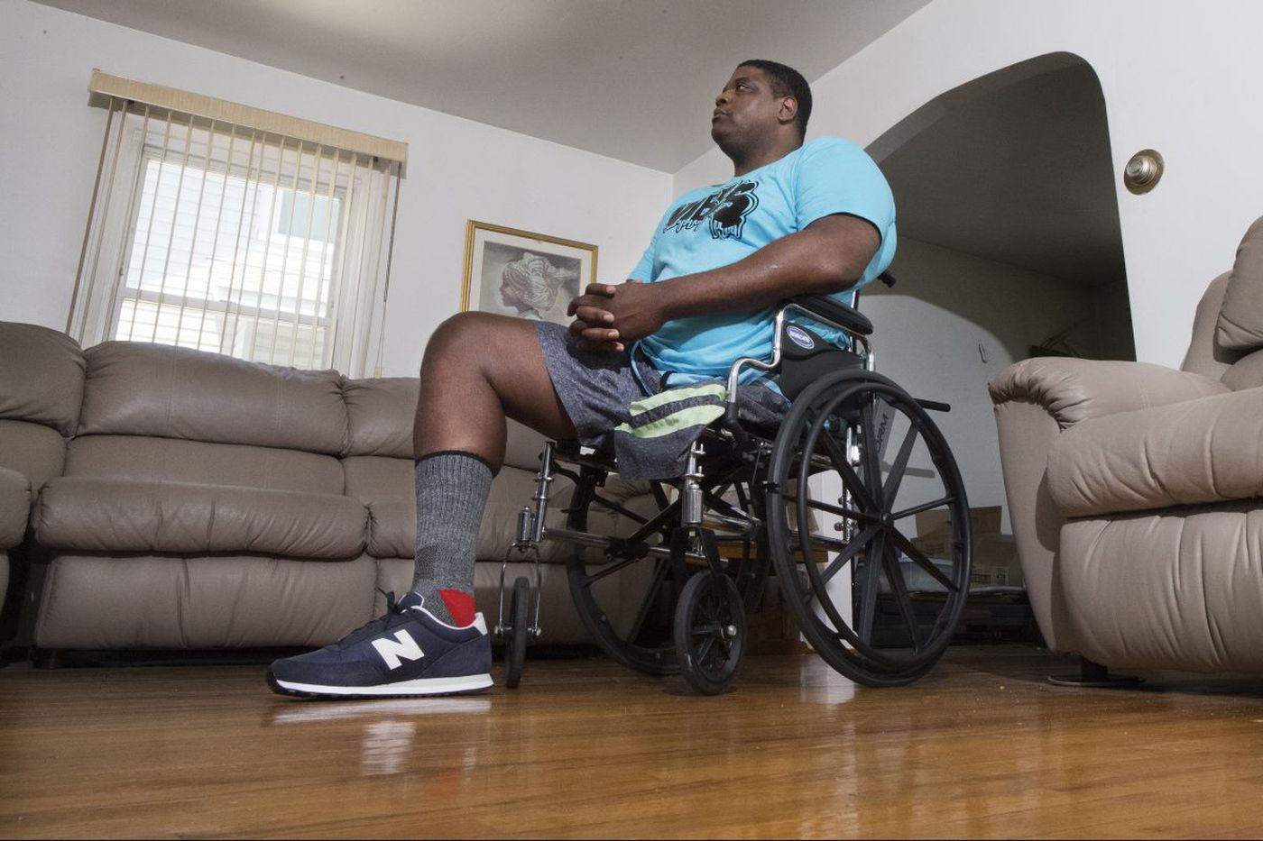 Former Temple big man Ron Rollerson, having lost a leg, finds a new sport