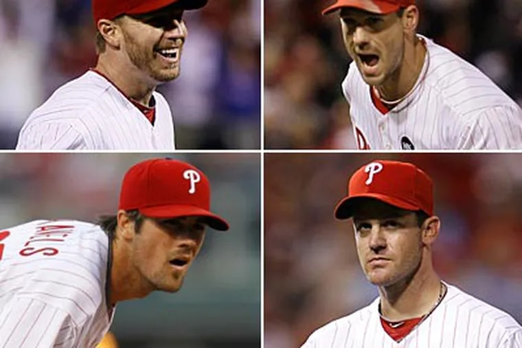 While pitching may be 90 percent of the game, great pitching doesn't always guarantee a championship parade. (AP file photos)