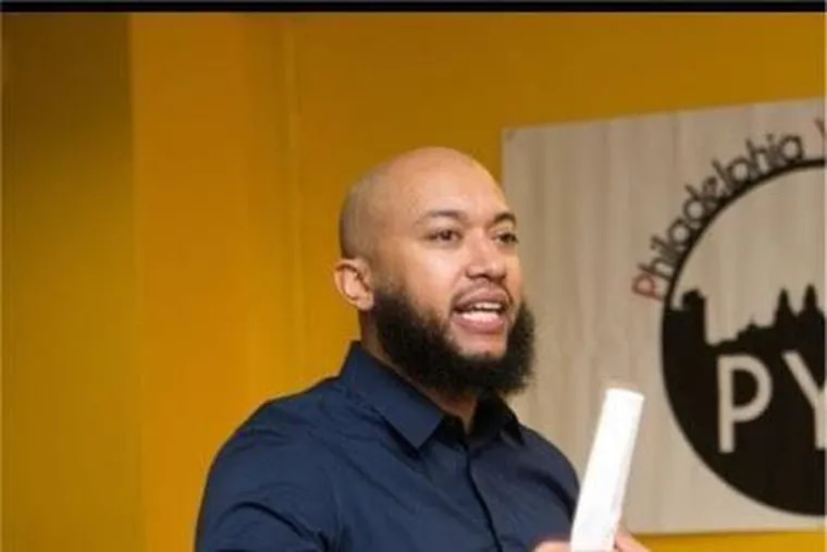 Ameen Akbar has been nominated for a seat on Mayor Kenney's second-term school board. He's a Masterman grad with a Penn State business degree and spent 14 years working for YouthBuild Philadelphia Charter School.