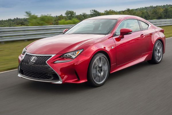 Auto review: Lexus RC 350 is a dash of excitement