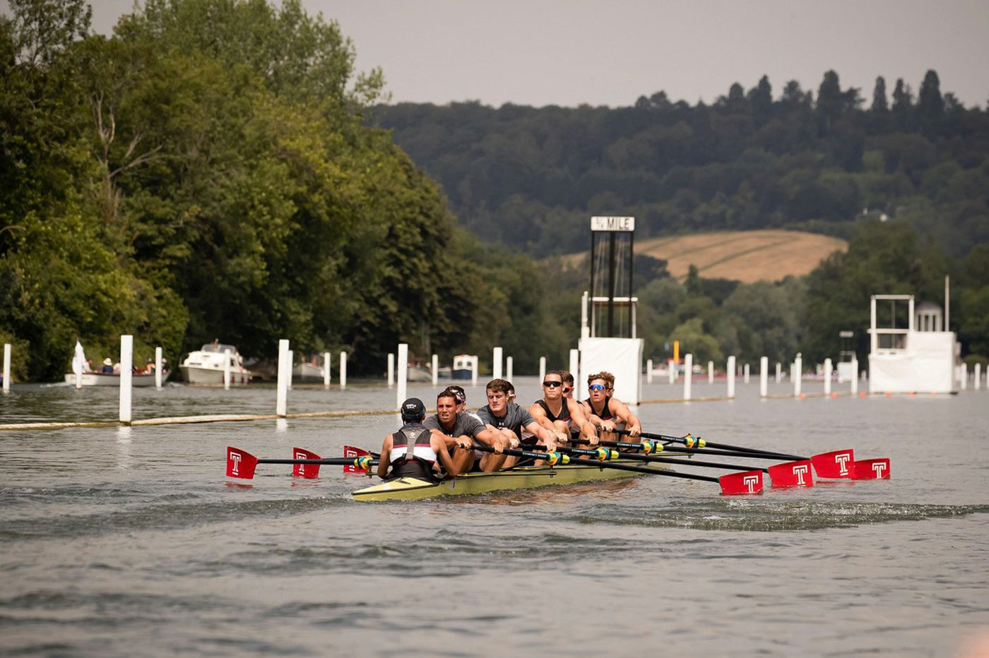 Temple can't escape an American dynasty at England's Henley Royal Regatta