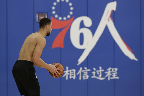 Sixers have a chance to show some guts about the NBA and China. They're passing it up. | Mike Sielski