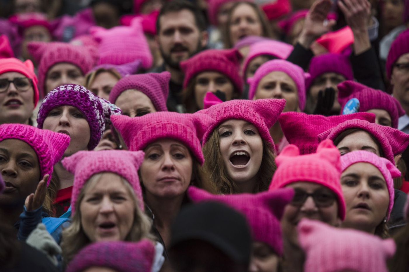 Some say Women's March pink hats aren't inclusive. Philly organizers say wear what you want.