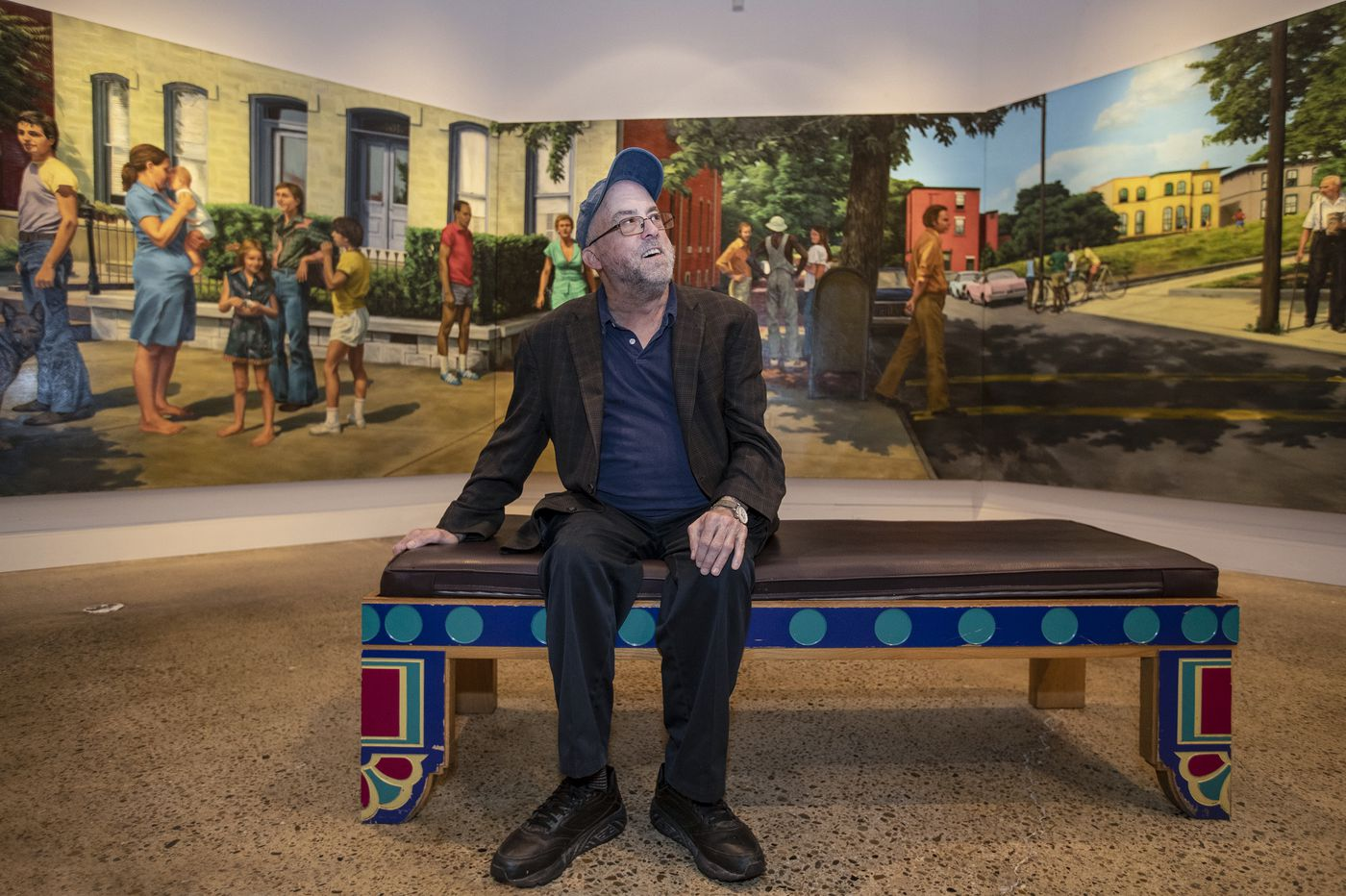 'Out of the picture too soon': Painter Bill Scott finds the soul of Philadelphia in his late friend Edith Neff's art
