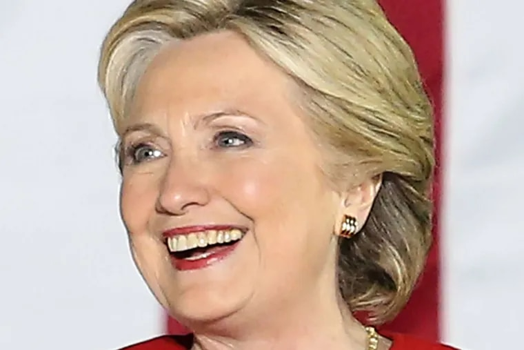 Hillary Clinton STEVEN M. FALK / Staff