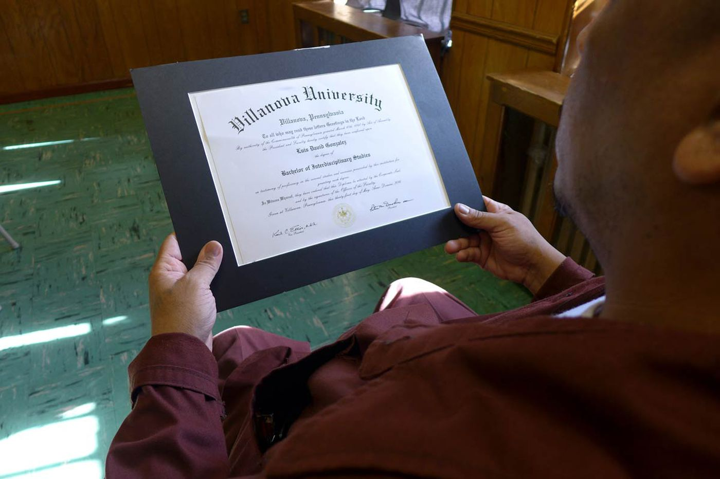 At Graterford, lifers get degrees even if they'll never use them