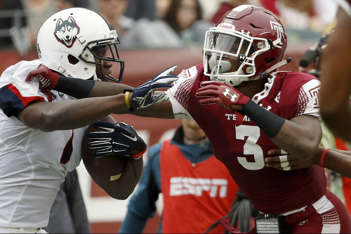 Temple's Sean Chandler: From homeless shelters to football stardom