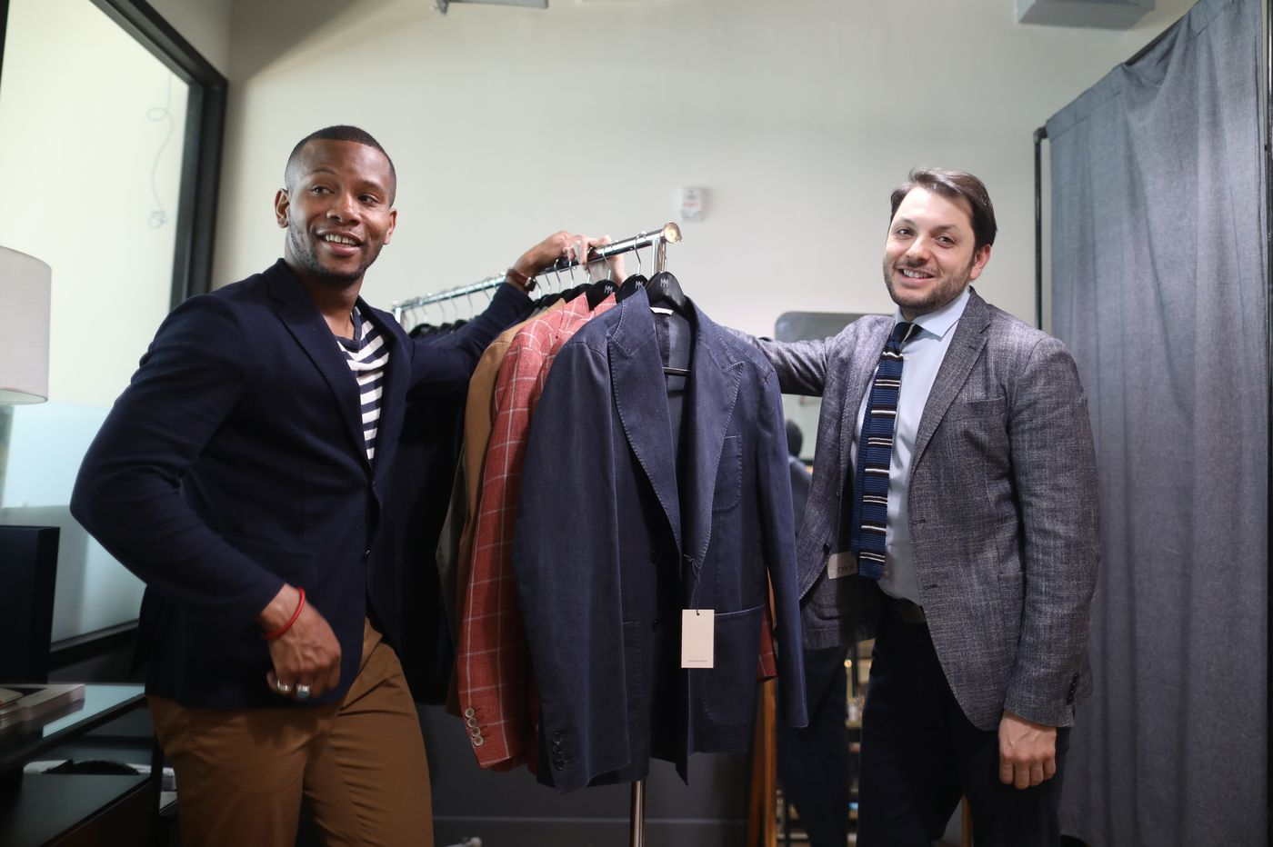 This Philadelphia designer is making menswear more relaxed — and just got a shout out from 50 Cent | Elizabeth Wellington