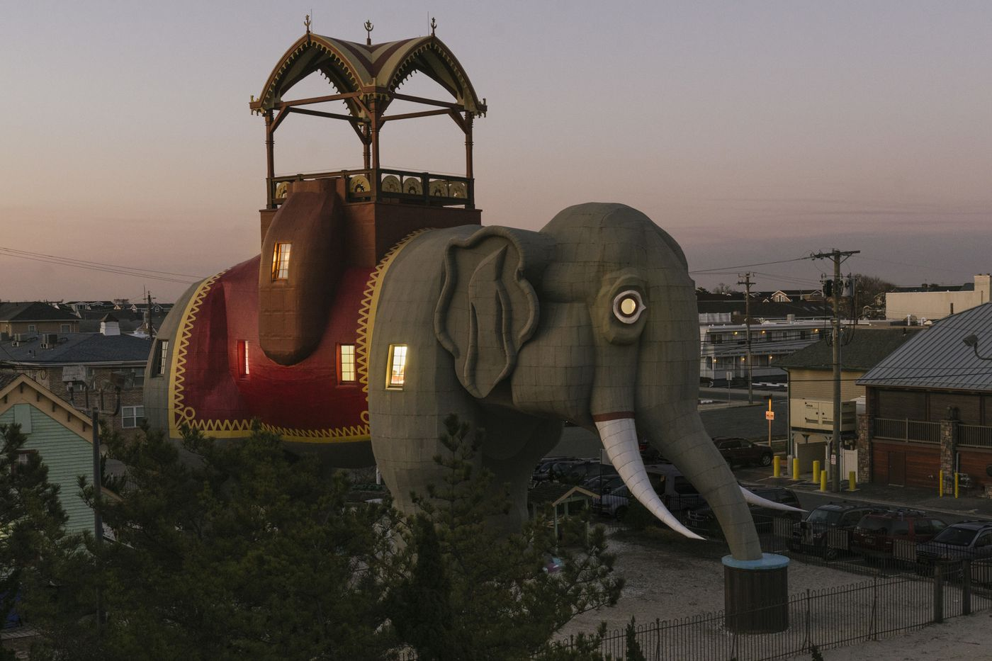 Margate's iconic Lucy the Elephant was listed on Airbnb for the first time, but it's first reservations have been postponed due to the coronavirus.