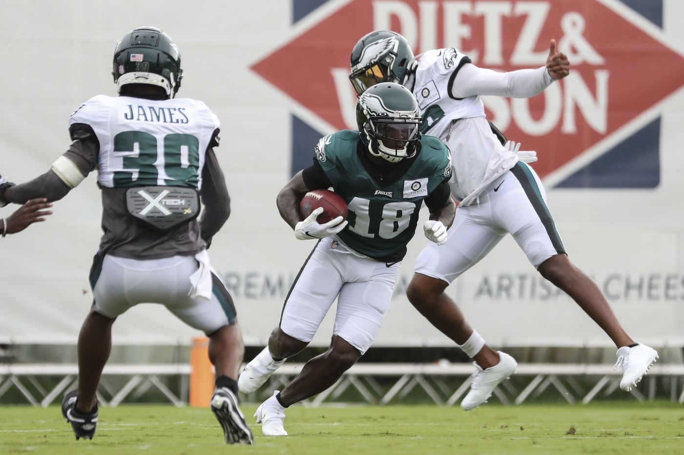 Doug Pederson indicates Jalen Reagor will play, while others are still uncertain ahead of Friday's practice