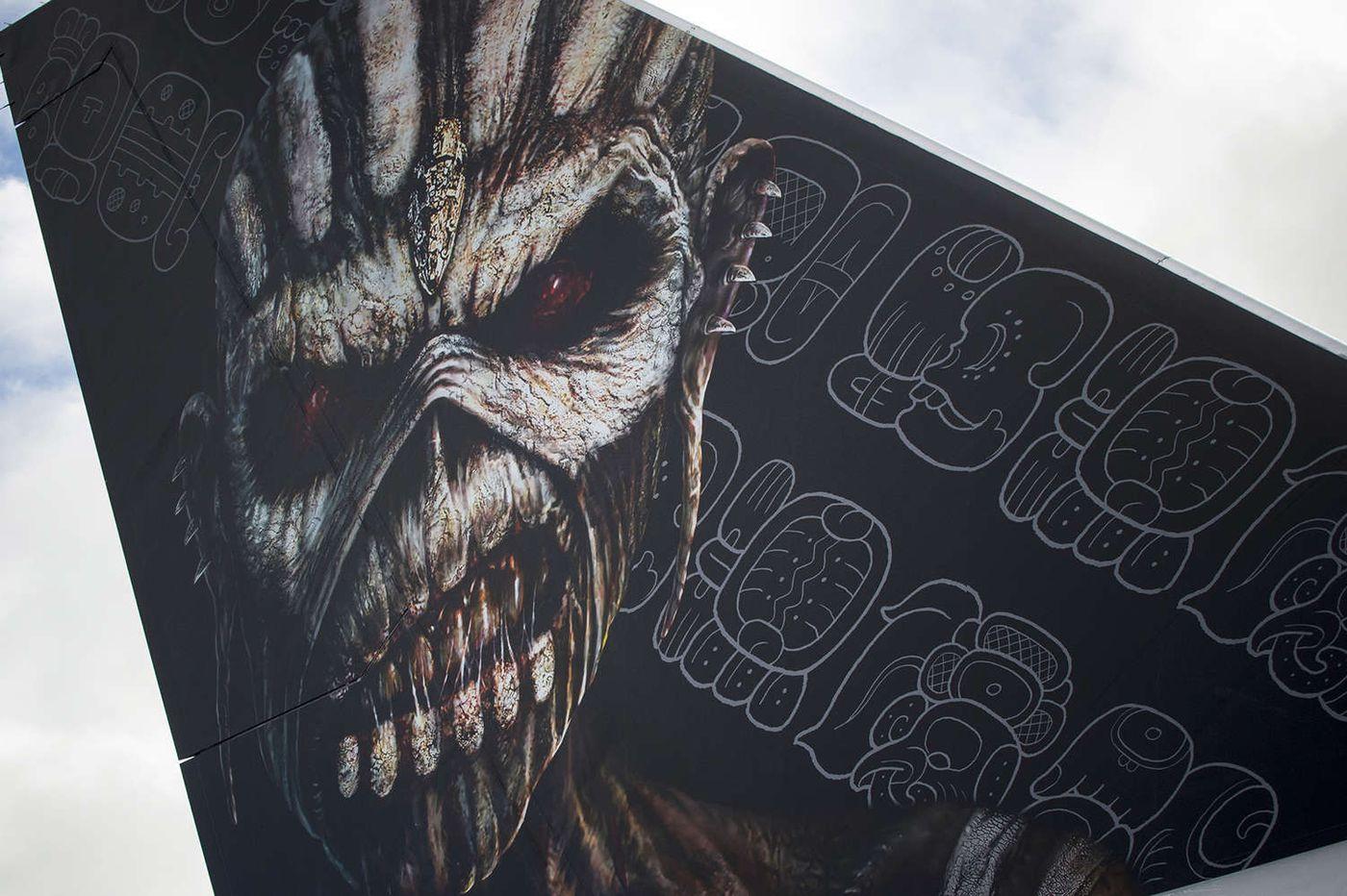 Penn archaeologist helps with Iron Maiden tour logo