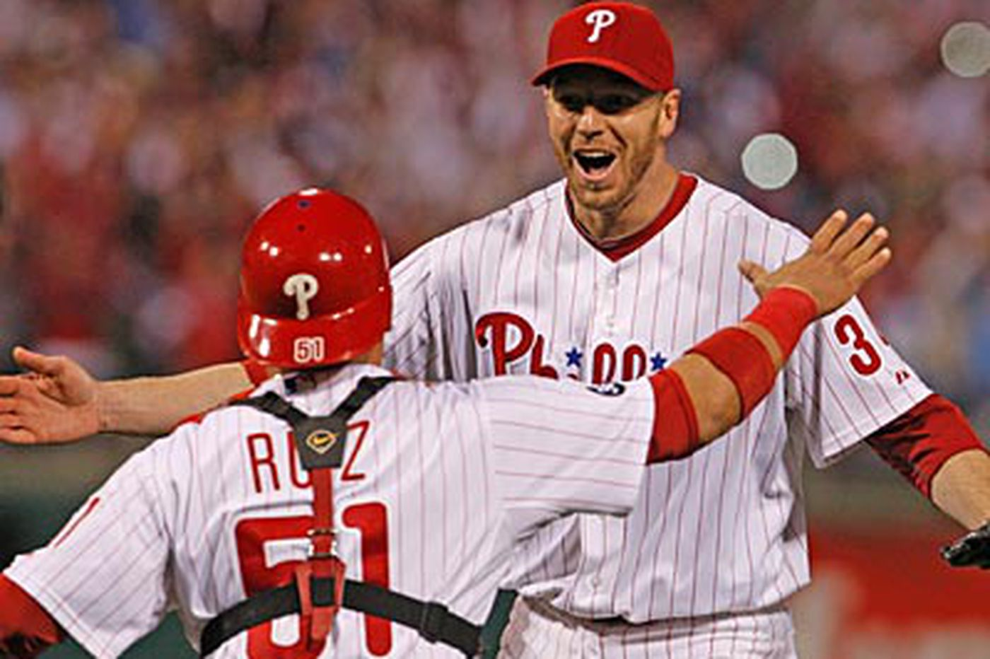 Not even Halladay was prepared for no-hitter
