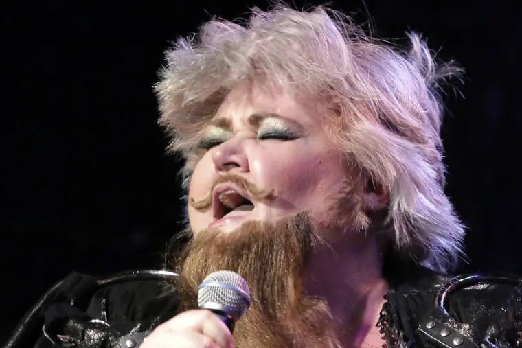Opera star Stephanie Blythe appears during show Friday night at TLA South St in Philadelphia. on February 24, 2017.