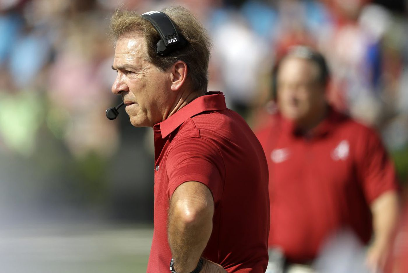 College football watch: Nick Saban making it tough on embattled SEC coaches