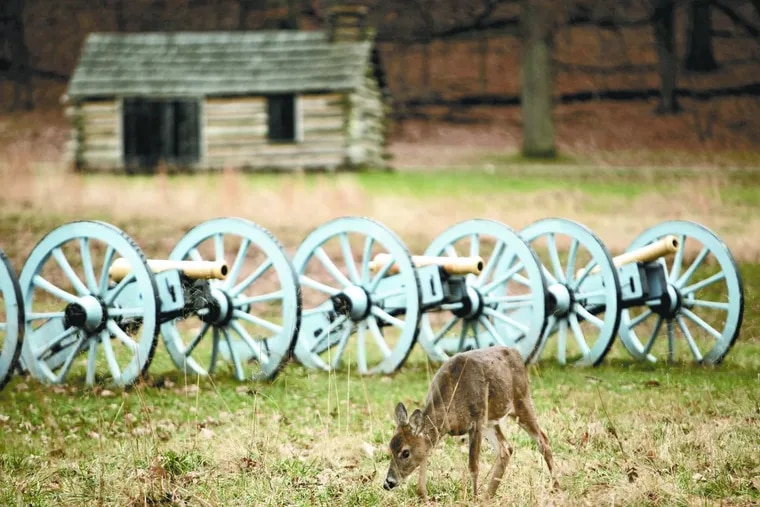 Valley Forge National Park, in Valley Forge, celebrated its 40th anniversary as a national park in 2016. The National Park Service celebrated its centennial last year.