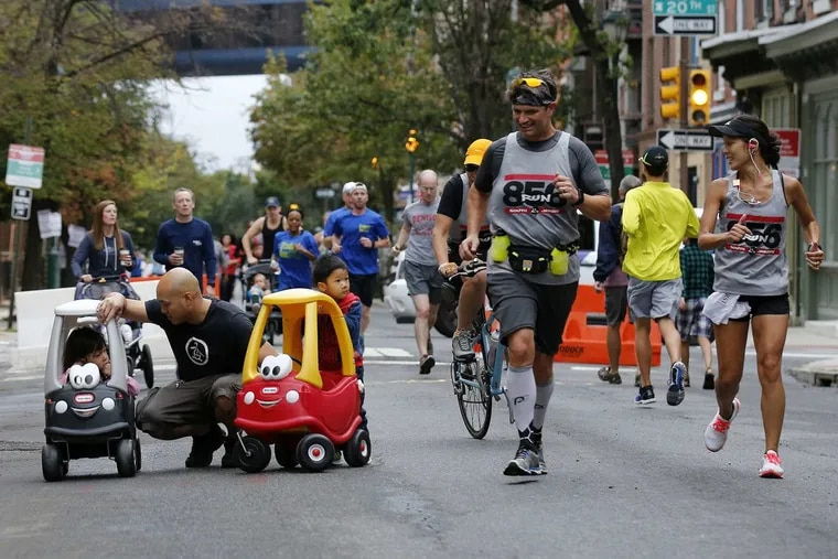 A scene from the 2016 Philly Free Streets event.