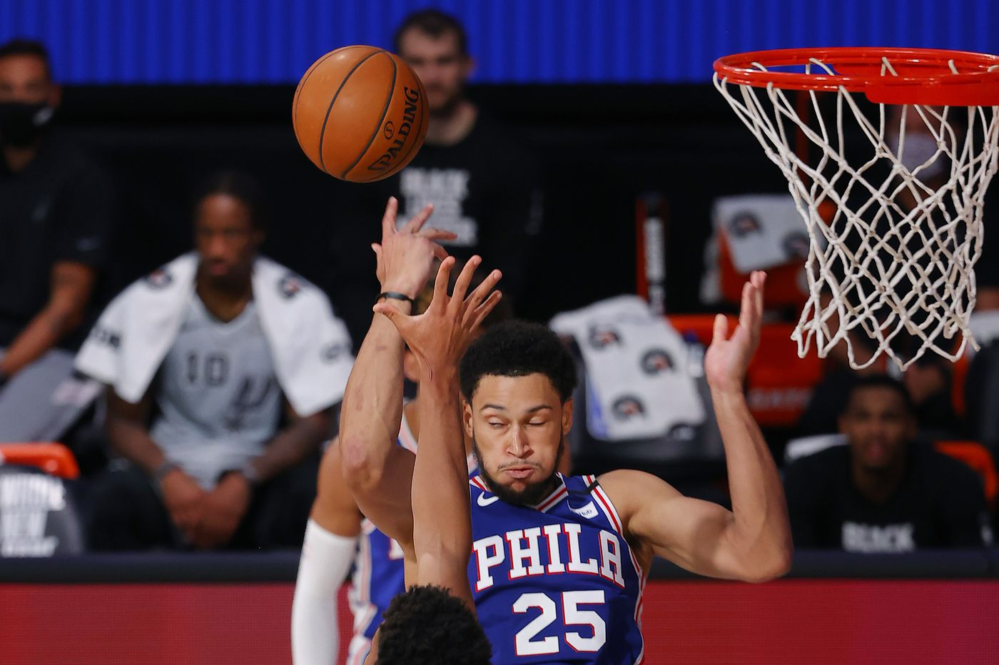 Ben Simmons has yet to report to Orlando. The Sixers need to get their struggling star going | David Murphy