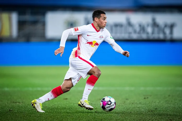 Leipzig's Tyler Adams faces fellow American star John Brooks this weekend before they head to the U.S. national team for World Cup qualifying.