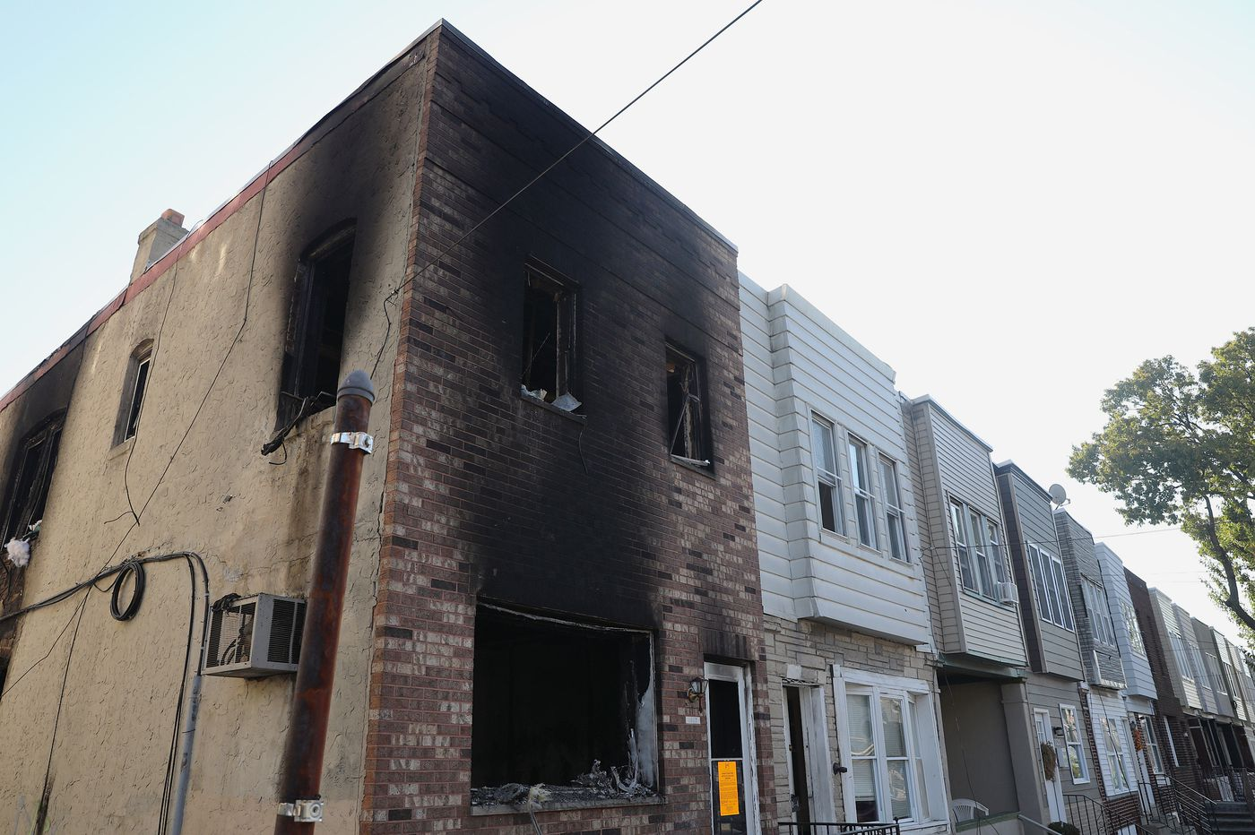 2 children die, an infant among 4 people hospitalized after a Philly house fire