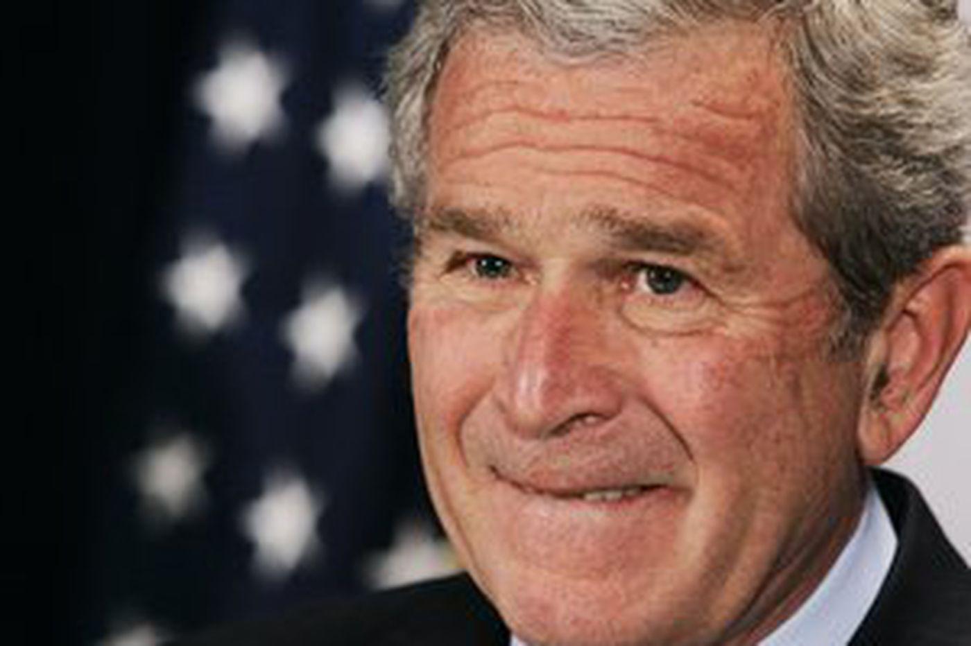 House backs benchmarks; Bush shifts