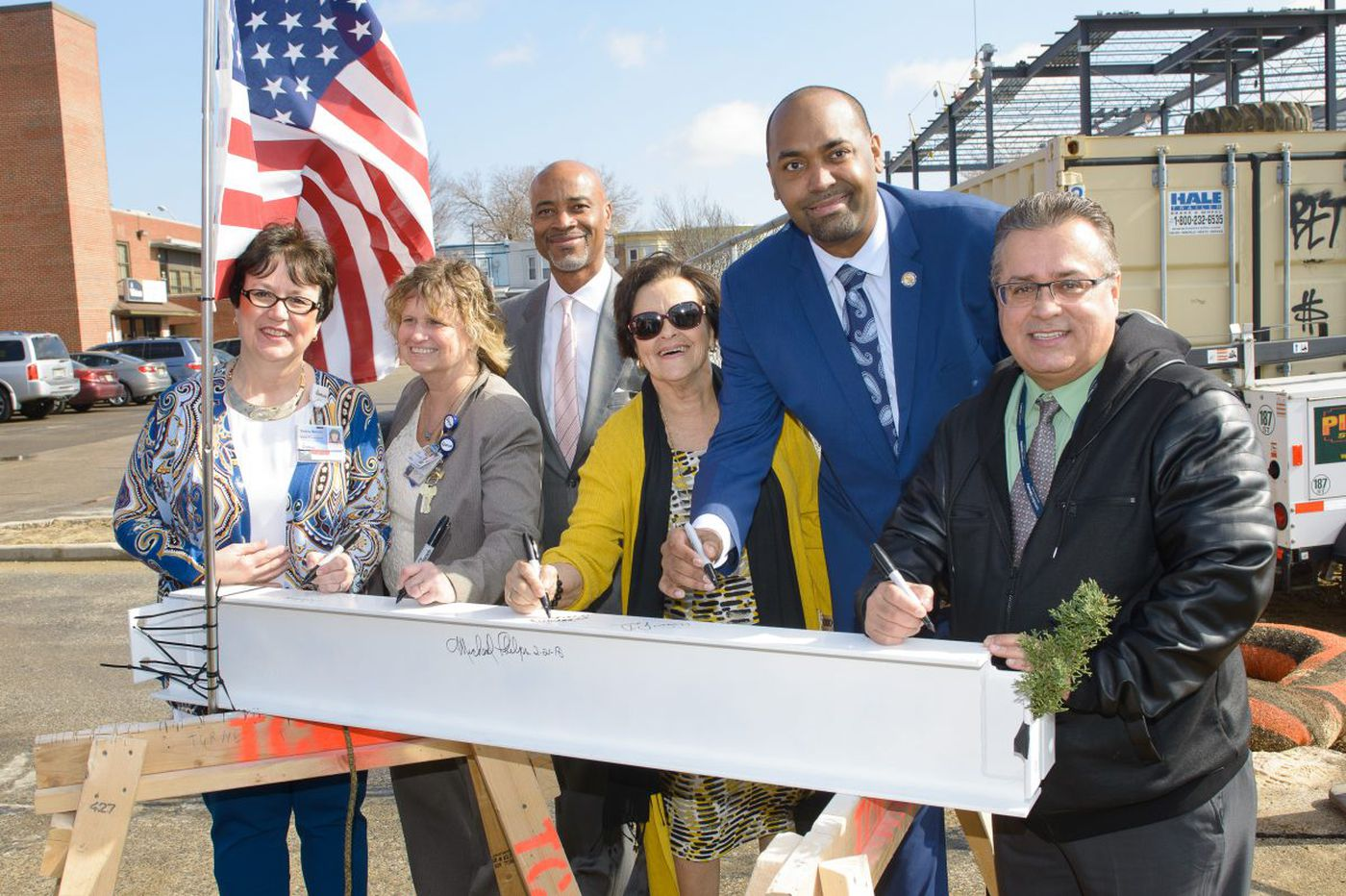 Virtua tops off new health and wellness center in Camden
