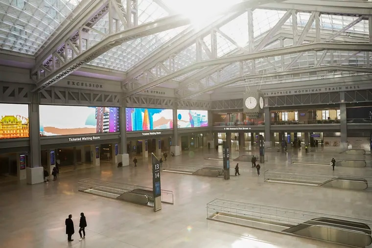 Almost 60 years after New York tore down the original Penn Station and 30 years after it first started planning a replacement, it opened a new skylit waiting room in early January called Moynihan Train Hall in the former post office on Eighth Avenue.