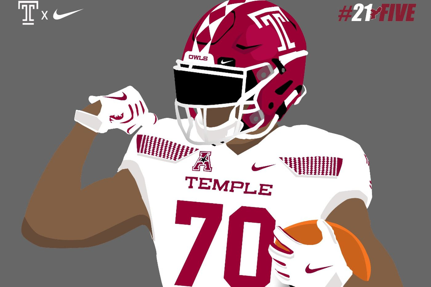 Temple recruit Keshaun Jones getting bigger, expects to play offensive tackle