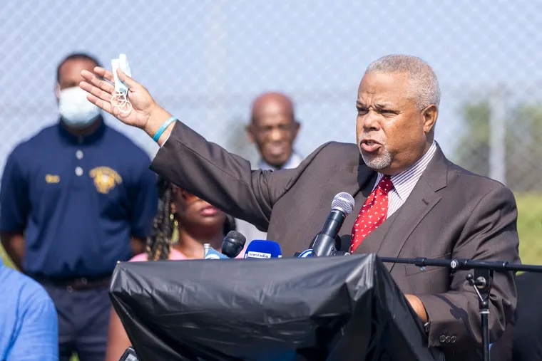State Senator Anthony H. Williams joined other members of the Delaware County Black Caucus on Thursday in calling for accountability and transparency into the investigation of Sharon Hill police officers whose gunfire killed Fanta Bility, 8, last month.