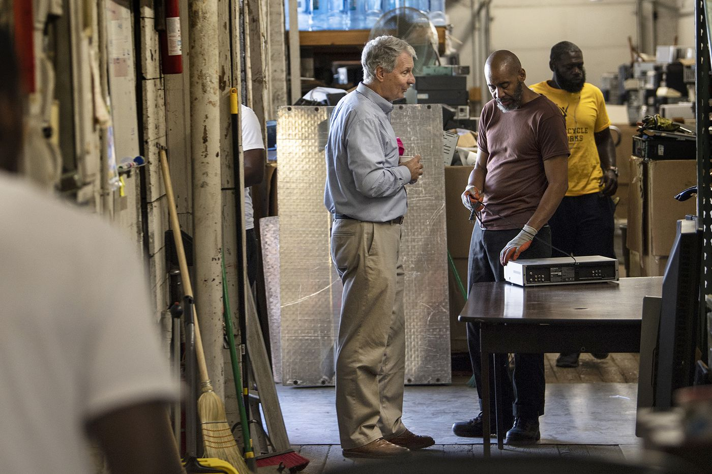 A Conshohocken financial exec and his wife help ex-prisoners find jobs. This is true Christianity. | Maria Panaritis