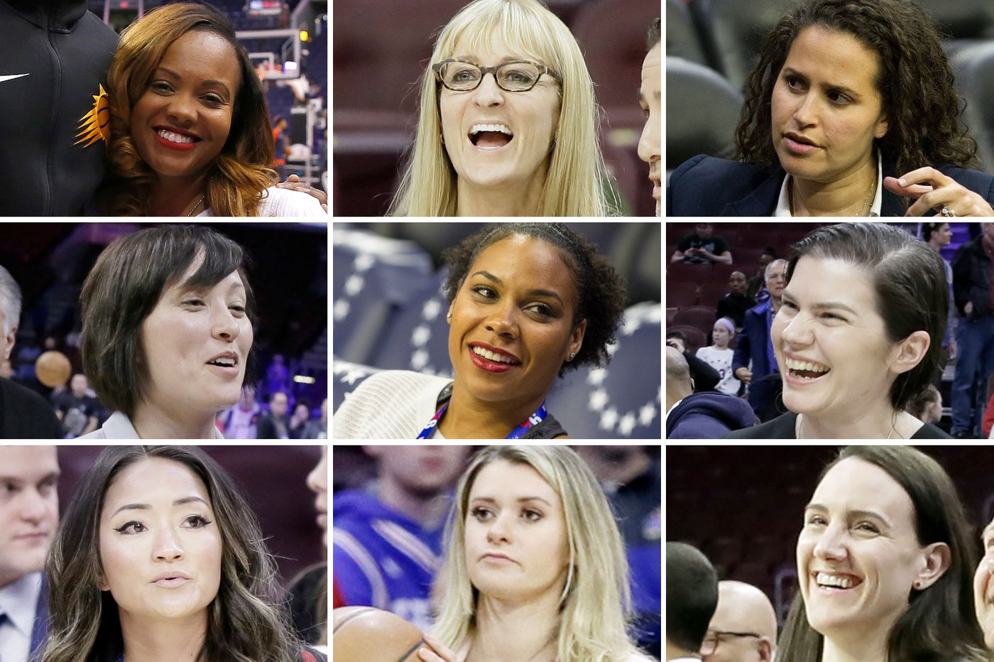 When it comes to putting women in charge, the Sixers are way ahead of the game