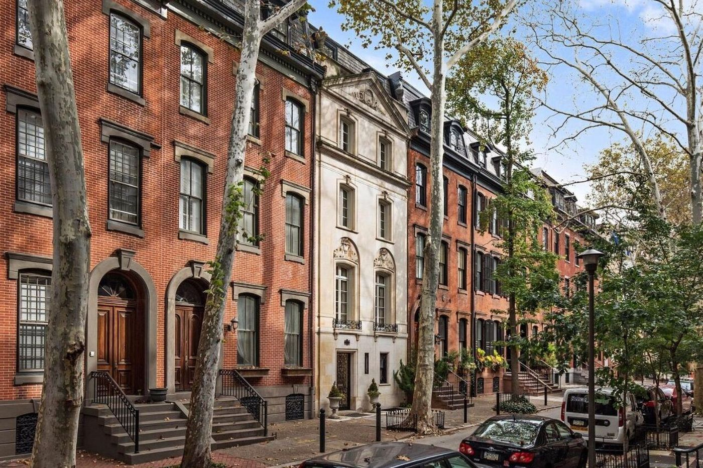 Three houses with the Rittenhouse Square lifestyle on the market