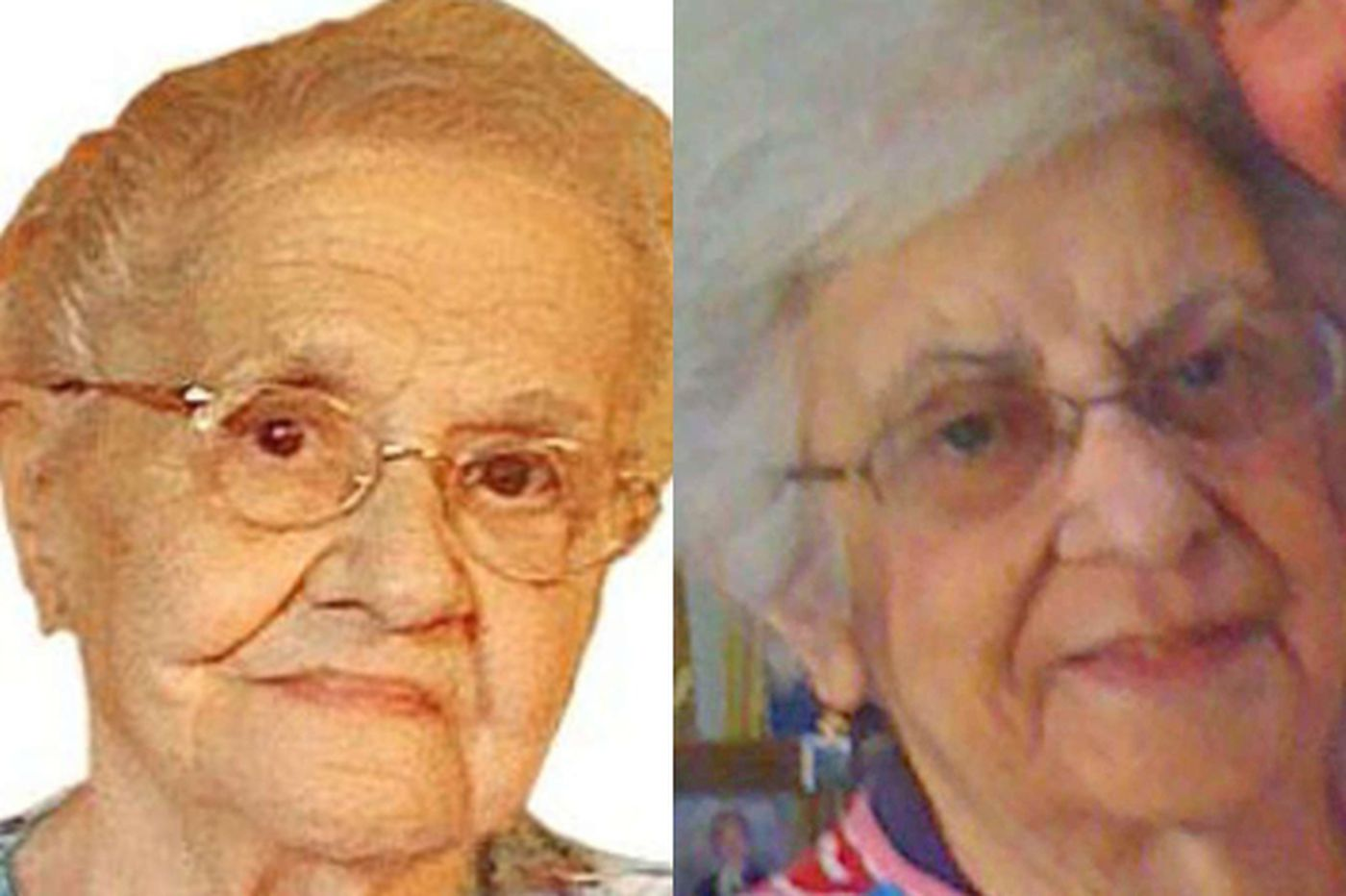 "Maria Forcellini, 99, and her daughter, Annunziata ""Nancy"" O'Connor, 73"